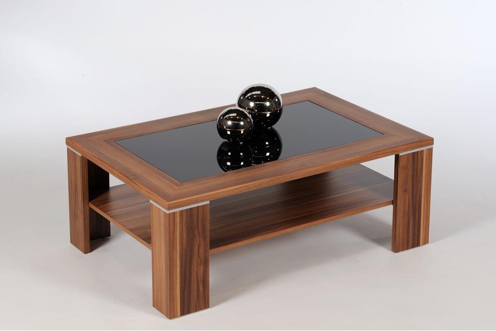 Awesome Wohnzimmertisch Holz Glas Contemporary - Ideas & Design